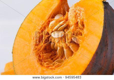 Pumpkin Slice Isolated