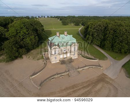 Aerial View Of The Hermitage Palace, Denmark
