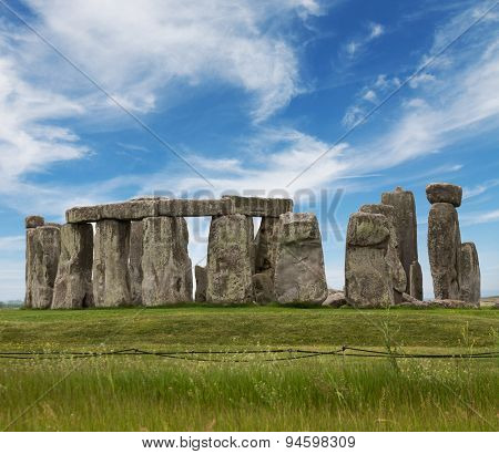Stonehenge.Touristic attraction