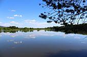 foto of kan  - Landscape of the river Kan Krasnoyarsk region - JPG