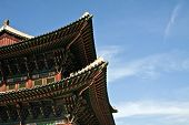 stock photo of korean  - Korean traditional architecture - JPG