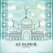 picture of eid festival celebration  - Muslim community festival - JPG