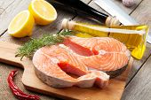 stock photo of condiment  - Salmon - JPG