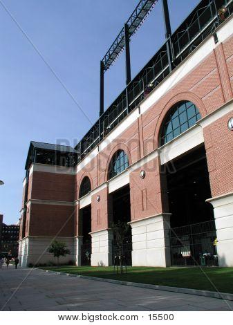 Baseball Stadium Exterior