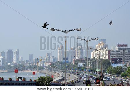 Aerial View Of Mumbai