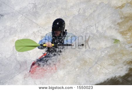 White Water Kayaking 1