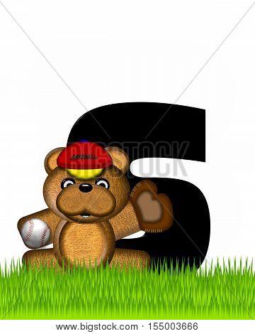 Alphabet Teddy Baseball S