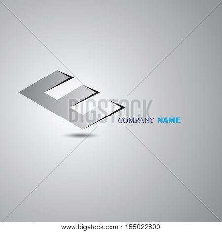 E letter vector. E logo icon template. E symbol silhouette. E isolated icon, E  line style letter, E logotype,E logo icons, E modern symbol, E company name brand. E technology logo digital concept