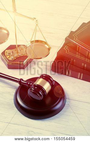 Law Gavel Justice Symbol