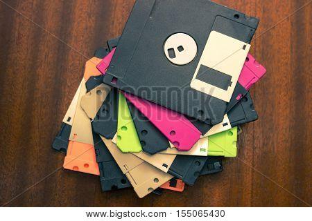 The old forgotten technologies. Floppy disks. Nostalgia.