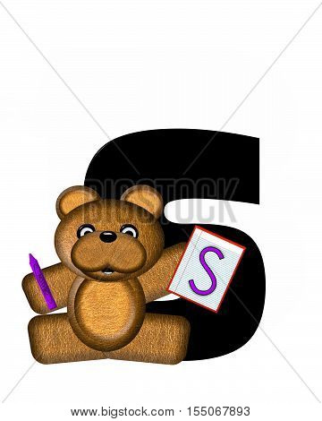 Alphabet Teddy Homework S