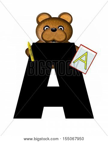 Alphabet Teddy Homework A