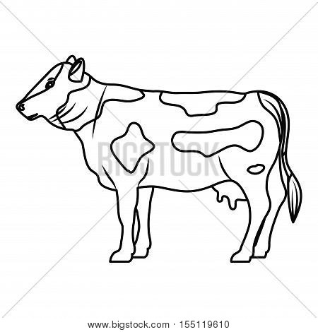 Beet icon. Livestock animal life nature and fauna theme. Vector illustration