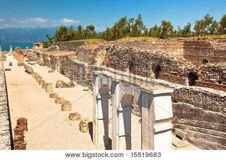 Roman Catullus Villa In Sirmione, Italy