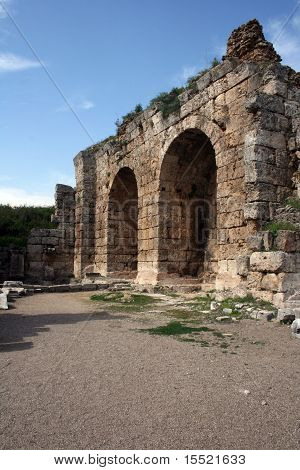 Ruins in Perge