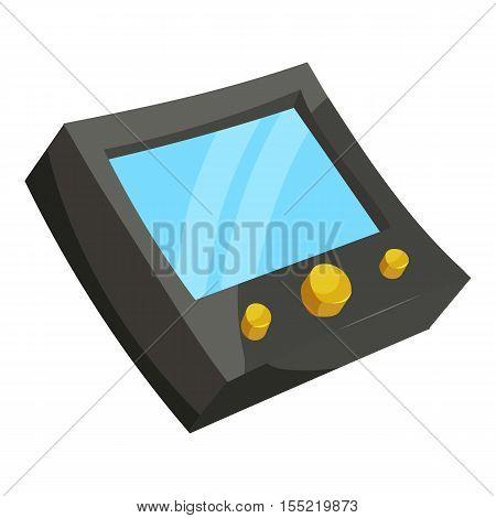 Speedometer for bike icon. Isometric illustration of speedometer for bike vector icon for web design