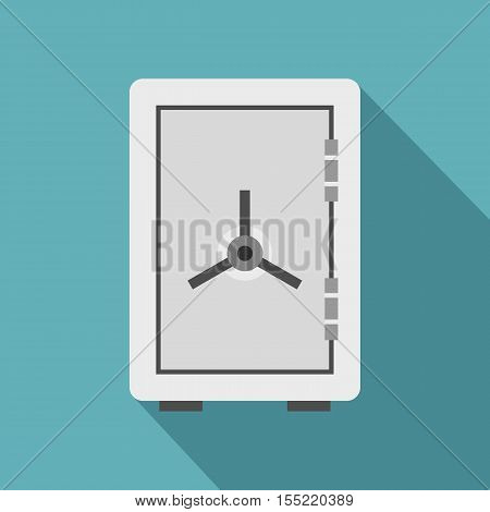 Safe icon. Flat illustration of safe vector icon for web
