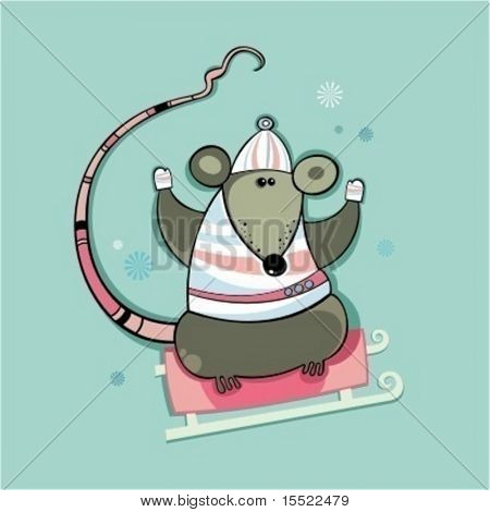 Winter rat.