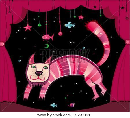 Magical cat. To see similar, please VISIT MY GALLERY.