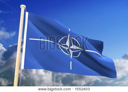 Nato Flag (Clipping Path)