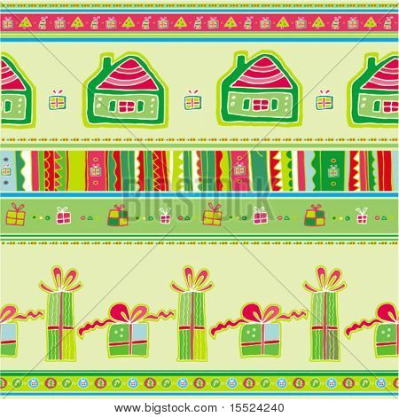 Christmas Seamless Pattern. To see similar, please VISIT MY GALLERY.