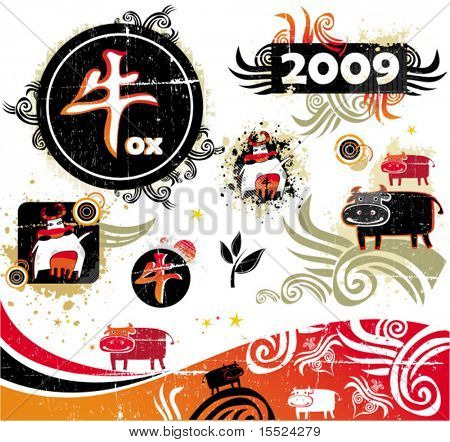 2009 is the Year of the Ox according to the Chinese Zodiac. To see similar, please VISIT MY GALLERY.
