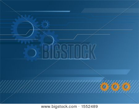 Industrial & Technology-Themed Background