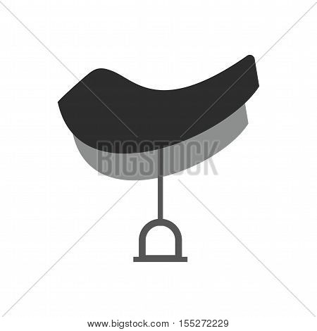 Saddle, horse, western icon vector image.Can also be used for wild west. Suitable for mobile apps, web apps and print media.