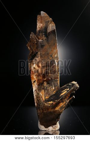 smoky quartz specimen mineral  the beauty geology