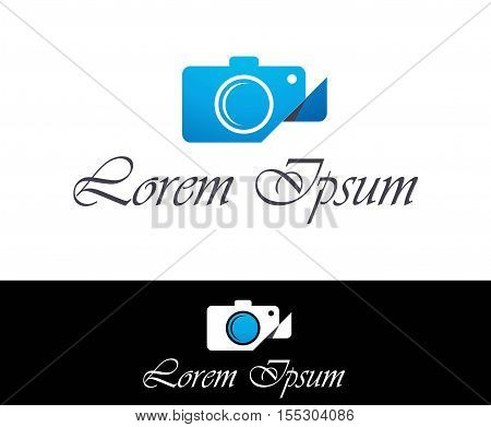 Photographer and photography industry vector business identity logo