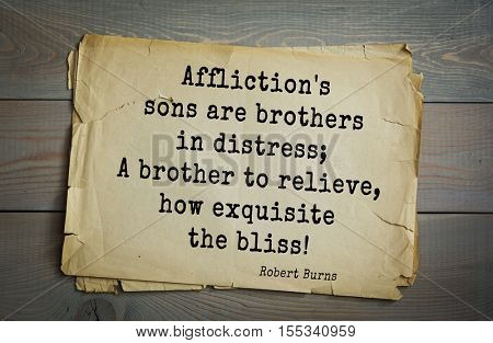 Top 15 quotes by Robert Burns - great Scottish poet lyricist. 