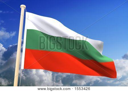 Bulgaria Flag (Clipping Path)