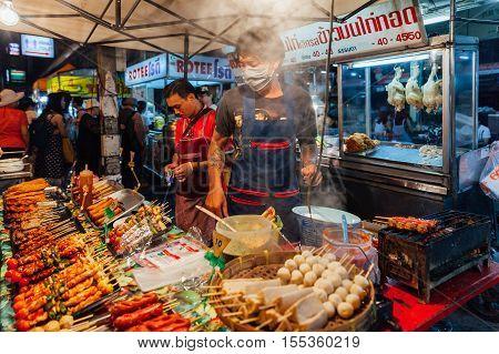 Saturday Night Market, Chiang Mai, Thailand