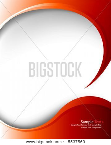 vector elegant layout