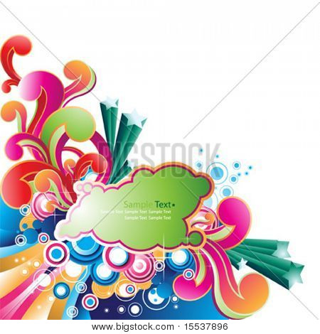 vector beautiful background design