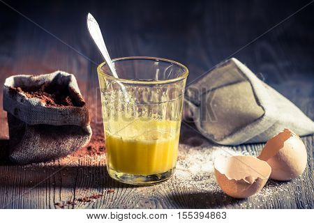 Taste Of Childhood, Egg Yolk With Sugar