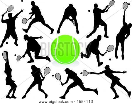 Tennis Players.Eps
