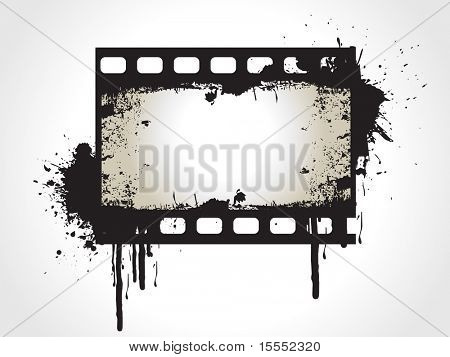 Photo reel vector