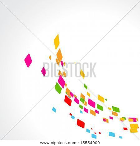 colorful abstract vector background design