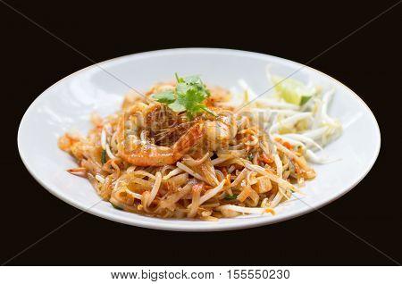 Shrimp On Padthai Menu
