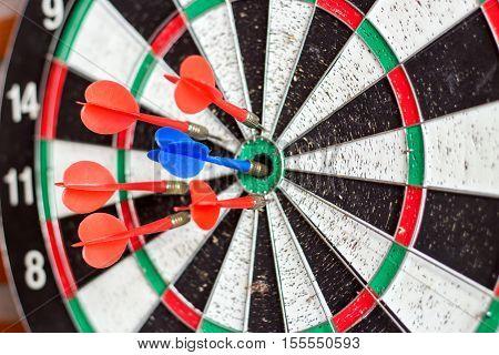 Blur Arrow Hit Target
