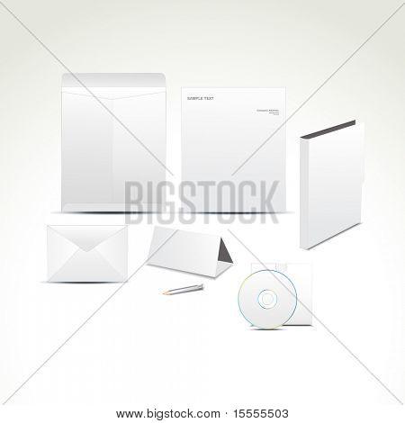Vector conjunto de elementos de diseño