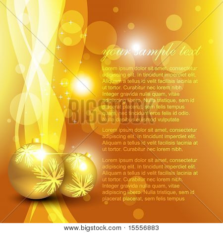 glowing christmas vector design illustration