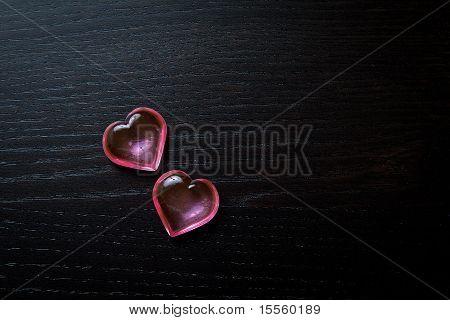 Transparent Hearts