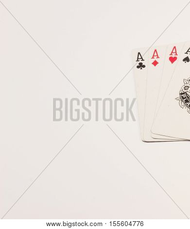 very powerful combination in a wonderful game called poker if that is what you get lucky by the tail