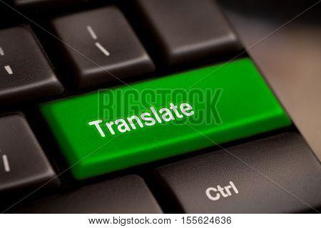 Translate Computer Key In Showing Online Translator