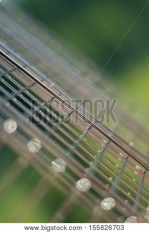New Bbq Grill Metallic Grid;