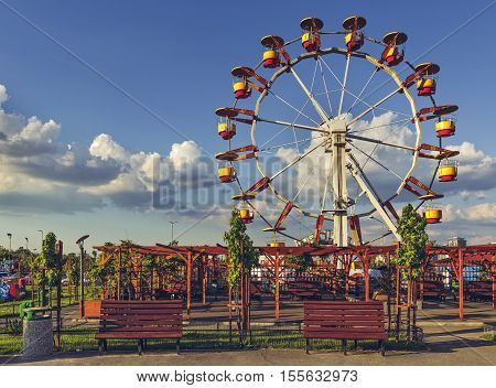 Ferris Wheel, Bucharest, Romania