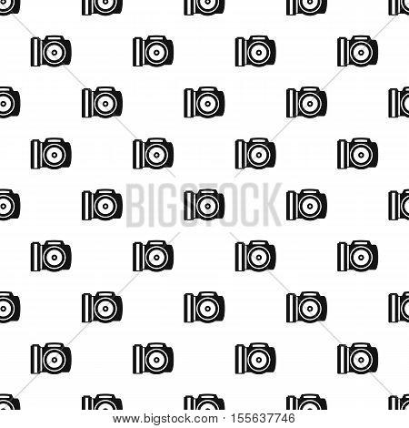 Camera pattern. Simple illustration of camera vector pattern for web