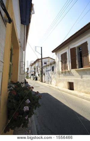 Alley In Larnaca